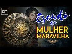 DIY: Como fazer o ESCUDO da MULHER MARAVILHA (Wonder Woman Shield)   Dan Pugno - YouTube