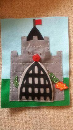 castle quiet book page