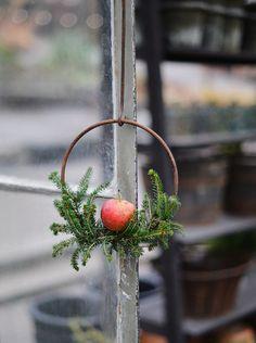 Consider it Ground Zero for Scandinavian Christmas decor. Every year Zetas Tradgard owners Richard and Victoria Skoglund transform the Stockholm garden shop into