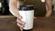 coffee cups are destroying our planet! bring your own cup!!