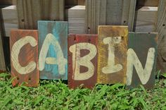 Rustic Distressed Wood Sign made with pallet board. by ginsden0911