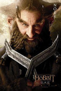 Nori is the star of this The Hobbit character poster. Peter Jackson's newest Tolkien film series kicks off December Gandalf, Le Hobbit Thorin, Legolas, Hobbit Dwarves, Bilbo Baggins, Thranduil, Thorin Oakenshield, Hobbit Art, Tauriel