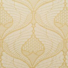 Beacon Hill's Winged Victory fabric in Gold #fabric #design #upholstery:
