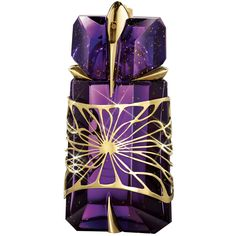 Thierry Mugler Alien - Notes: Solar Accord, Jasmine Sambac, Green Notes, Cashmeran, Vanilla, Amber. Another by Mugler. I'm so intrigued by this fragrance - the name, the bottle. A friend said I only want it because its purple (I do have a lot purple perfume bottles.) In terms of the scent, it's seductive but not too over powering. The jasmine in it is really nice. And I really love amber and vanilla. I think the name is cool and dark.