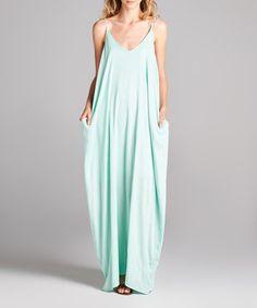 Loving this Mint Maxi Dress on #zulily! #zulilyfinds
