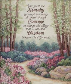 Create a pretty decorative accent for your living space, using the Ek Success Dimensions Gold Collection Serenity, Courage, and Wisdom Counted Cross Stitch Kit 12 x It features an aesthetic design