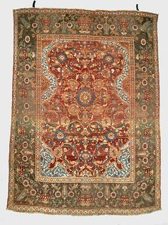 Egypt, Cairo,  rug, 17th century