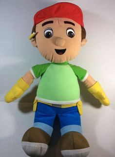 "Disney Handy Manny Plush 25"" Soft Toy Stuffed #Disney"