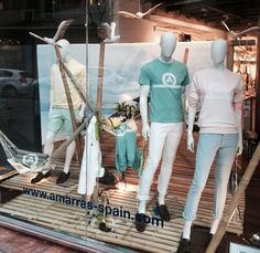 Nuevo escaparate en Amarras « Escaparate4 #fashion #visualmerchan #modahombre #escaparatismo #visualmerchandaising