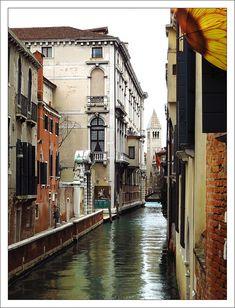 Sunflower Canal, Venice Italy