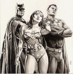 J.G. Jones - Justice League