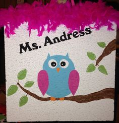 Painted ceiling tile