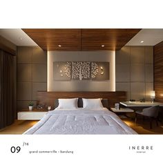 PORTFOLIO - The best way too see what tomorrow brings is to sleep through the night. Modern Luxury Bedroom, Luxury Bedroom Design, Bedroom Closet Design, Bedroom Furniture Design, Luxurious Bedrooms, Indian Bedroom Design, Simple Bedroom Design, Bedroom False Ceiling Design, Master Bedroom Interior