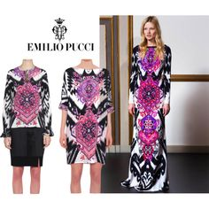 """EMILIO PUCCI FALL/WINTER 2014"" by lindelepalais on Polyvore"