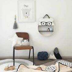 Bear Shelf Add On Kits – Bear and Sparrow Toddler Rooms, Baby Boy Rooms, Little Girl Rooms, Diy Kids Furniture, Kids Decor, Home Decor, Baby Kind, Kid Spaces, Kids Bedroom