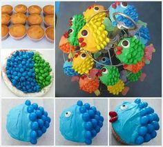 Fish cupcskes