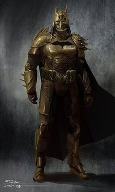 Brass Armor Batman