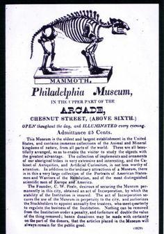 Invitation to Peale Museum