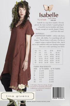 ISABELLE TG-A7105 Wedding Dress Patterns, Sewing Patterns Girls, Miss Dress, Wedding Bridesmaid Dresses, Linen Dresses, Simple Dresses, Silk Chiffon, Hemline, Tunic