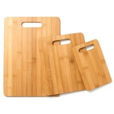 3 Pieces Bamboo Cutting Board Set