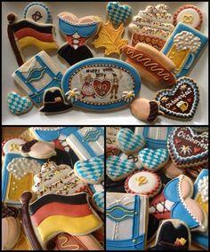 Oktoberfest (Decorated Cookies)