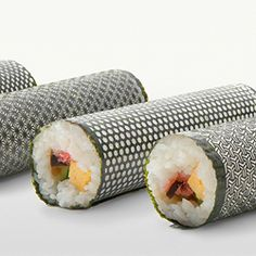 laser cut nori sheets for sushi!