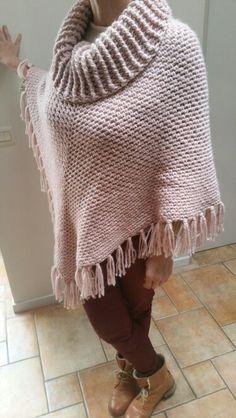 Crochet Cape Pattern, Crochet Poncho Patterns, Vest Pattern, Shawl Patterns, Crochet Shawl, Knit Crochet, Baby Poncho, Poncho Shawl, Bikinis Crochet