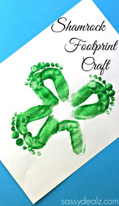 shamrock footprint craft