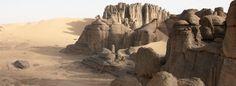 Hoggar mountains Algeria