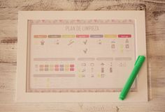 Planning de Limpieza Household Chores, Ideas Para, Periodic Table, Bullet Journal, Tips, Nuevas Ideas, Soya, Smoothies, Homemaking