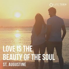 """Since love grows within you, so beauty grows. For love is the beauty of the soul."" - St. Augustine (Photo by @jmassegu)"