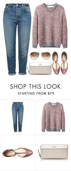 """Casual Friday"" by nicolesynth ❤ liked on Polyvore featuring Topshop, Étoile Isabel Marant, Nine West, Kate Spade and Chloé"