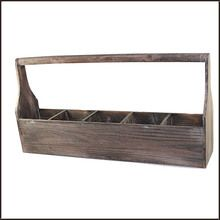 Farmers Divided Wooden Tool Box