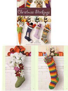 4032 Crocheted Christmas Stockings