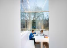 """""""Invisible"""" extension added to a London home."""