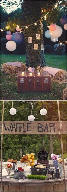 rustic country wedding decor ideas / http://www.deerpearlflowers.com/country-rustic-wedding-ideas/ #WeddingIdeasCountry