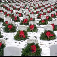 Arlington Cemetery at Christmas