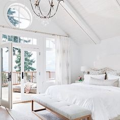 5 Stylish Bedroom Designs For Your Comfort  - Bedroom is the last room in your household that you might think about decorating or re-arranging because no one else sees it except you, and even you... -  sydney-white-bedroom-design .