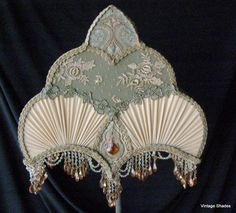 Victorian Lampshade for Floor Lamp