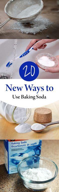 20 New Ways to Use Baking Soda