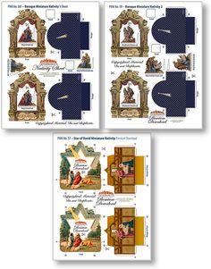 Miniature Nativity Sheet Collection 2 - PaperModelKiosk.com. ..♥.Nims.♥