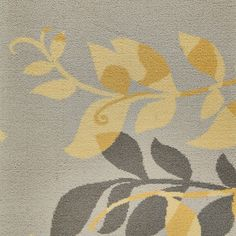 Yellow Botanical carpet, Timorous Beasties Collection by Brintons range   Brintons Carpets