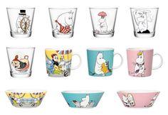 Moomin glassware