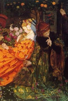 The Deceitfulness of Riches, Eleanor Fortescue Brickdale (b.1871-1945)