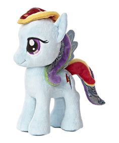 This Rainbow Dash Plush Toy by My Little Pony is perfect! #zulilyfinds