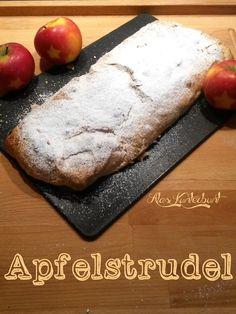 Schneller Apfelstrudel mit Blätterteig - Ala's Kunterbunt