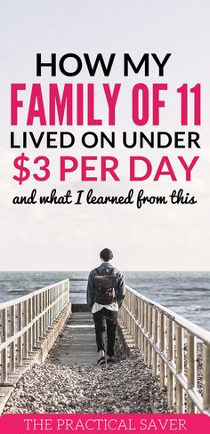 Living on less? Is that possible? Yes, my family lived off well under $3 a day before. It's difficult but we made it work. extreme frugal living tips l living on one income l budgeting tips for beginners l save extra money l money management tips l personal finance tips l how to live on a tight budget. #tightbudget #budgetingtips #personalfinance #financialtips #fmoneytips
