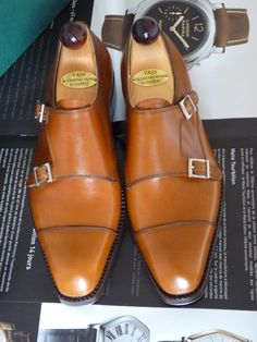 Love the color on these double monks. Coffee with a splash of cream.