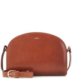 Demi-Lune leather shoulder bag by: A.P.C. @Mytheresa (INTL)