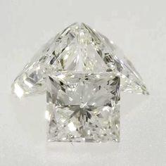 0.19 ct I Color SI2 Clarity 3.12x2.99x2.28 mm Loose Princess Cut Natural Diamond